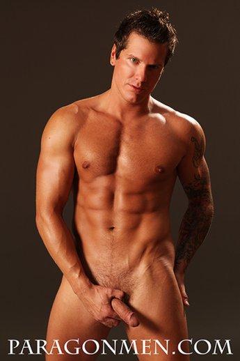 Gay man wearing thong