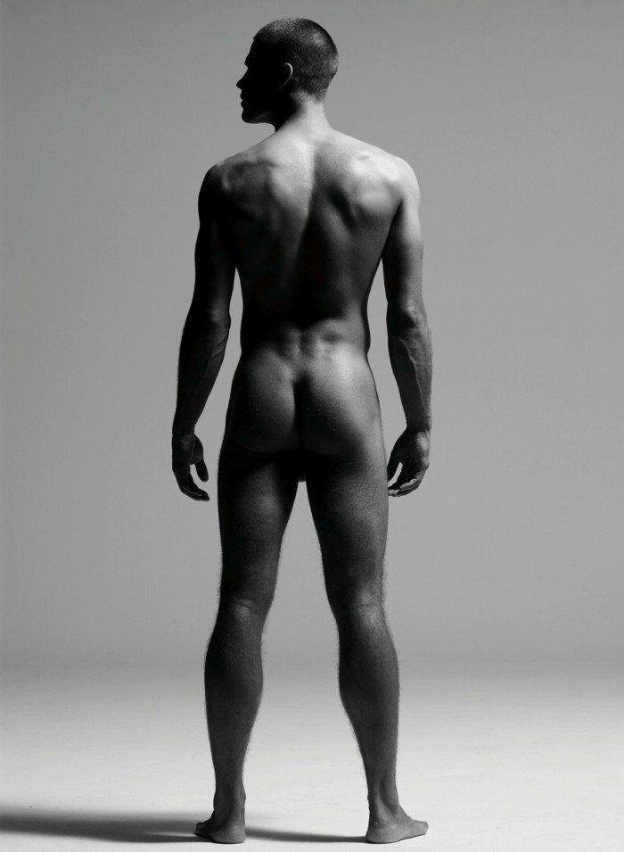 Skinny naked white guys