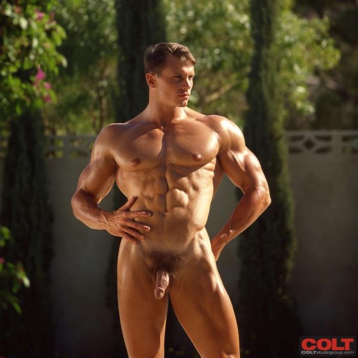 Nude Male Model John Pruitt Muscle