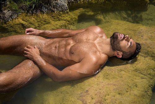 Fotos quentes do modelo Konstantin Kamynin 15