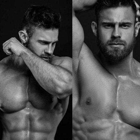Fotos quentes do modelo Konstantin Kamynin 4