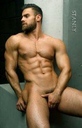 Fotos quentes do modelo Konstantin Kamynin 11