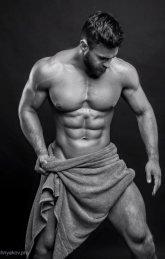 Fotos quentes do modelo Konstantin Kamynin 24
