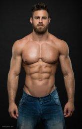 Fotos quentes do modelo Konstantin Kamynin 8
