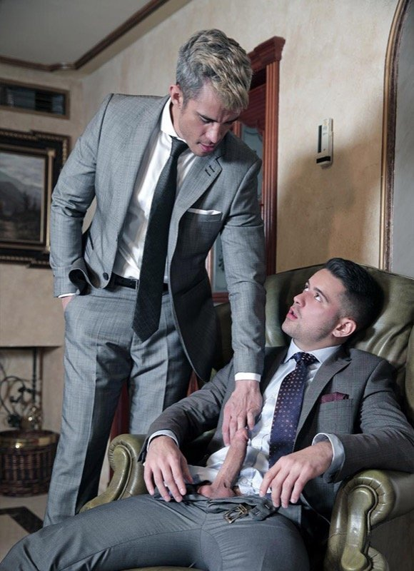 Advogados gostosos transando - Maikel Cash e Robbie Rojo 4