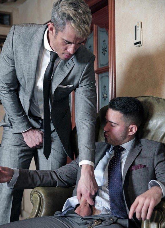 Advogados gostosos transando - Maikel Cash e Robbie Rojo 5