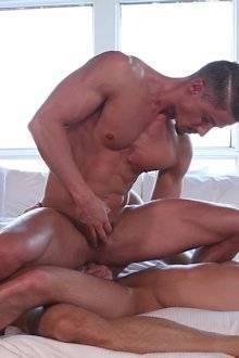Muito sexo gay com dupla penetraç�