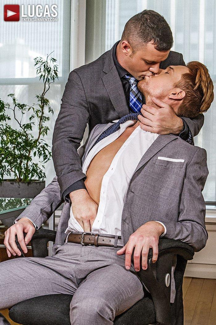 Vídeo gay online com Emerson Palmer e Sergeant Miles 3