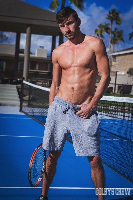 Transando com meus amigos de tênis 3