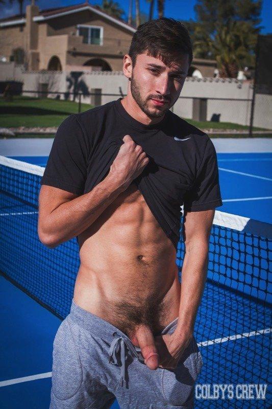 Transando com meus amigos de tênis 6