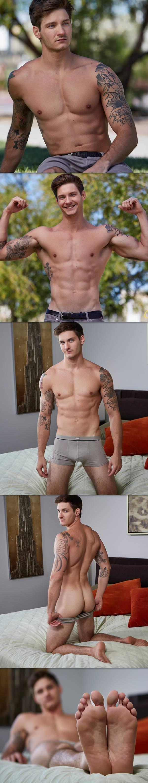 Sebastian: um lindo modelo pornográfico 2