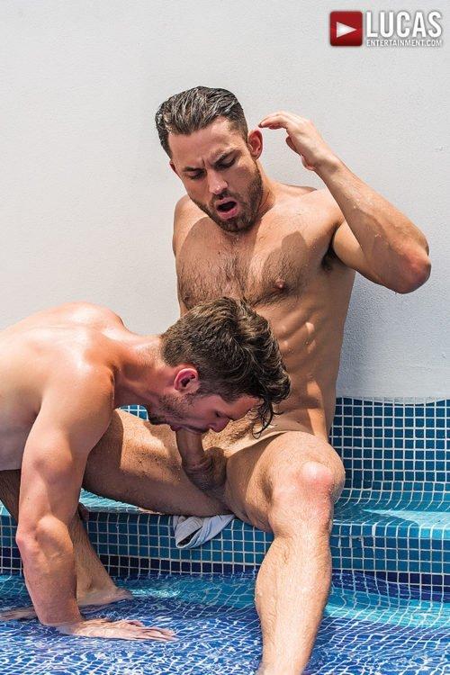 Suruba gay com homens sarados 14
